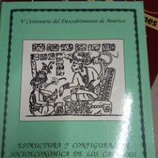 Libros de segunda mano: ESTRUCTURA Y CONFIGURACIÓN SOCIOECONÓMICA DE LOS CABILDOS DE YUCATÁN EN EL SIGLO XVIII - MARTINEZ. Lote 179077347