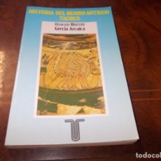 Libros de segunda mano: HISTORIA DEL MUNDO ANTIGUO, GRECIA ARCAICA, OSWYN MURRAY. TAURUS REIMPRESIÓN 1.988. Lote 179148113