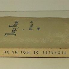 Libros de segunda mano: JUEGOS FLORALES DE MOLINS DE REY. VARIOS AUTORES. ESTUDI DART DRAMATICA. MOLINS DE REY. 1951.. Lote 179236015