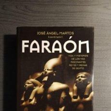 Libros de segunda mano: FARAÓN - JOSÉ ÁNGEL MARTOS AGUILAR . Lote 179535330
