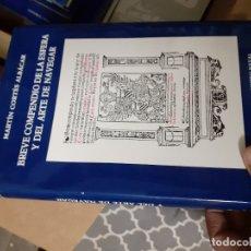 Libros de segunda mano: BREVE COMPENDIO DE LA ESFERA Y DEL ARTE DE NAVEGAR - MARTÍN CORTES ALBACAR EDITORIAL NAVAL. Lote 179948516