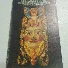 Libros de segunda mano: CANIVALES Y REYES - LOS ORIGENES DE LA CULTURA - MARVIN HARRIS - TDK148. Lote 180207040