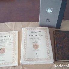 Libros de segunda mano: LIBRO DE MARCO POLO, SIGLO XIII. Lote 180285282