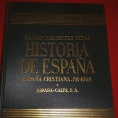 Libros de segunda mano: HISTORIA DE ESPAÑA. TOMO VI: ESPAÑA CRISTIANA (711-1038 DE J. C.). R. MENENDEZ PIDAL. Lote 180437046
