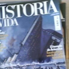 Libros de segunda mano: HISTORIA Y VIDA Nº 529. QUE SE HUNDIO CON EL TITANIC. EL FIN DE UNA ERA QUE SE AHOGO EN SU EXCESIVO . Lote 180835165