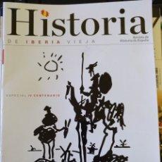 Libros de segunda mano: HISTORIA DE IBERIA VIEJA. ESPECIAL IV CENTENARIO: LAS HUELLAS DEL QUIJOTE (CASTILLA-LA MANCHA).. Lote 180835390