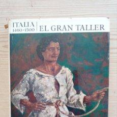 Libros de segunda mano: EL UNIVERSO DE LAS FORMAS - ITALIA 1460-1500 - EL GRAN TALLER - AGUILAR - 1966. Lote 180854447
