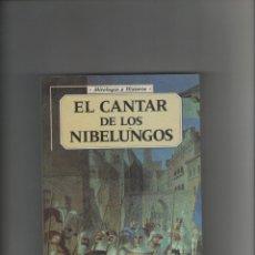 Libros de segunda mano: AUTOR: FERNANDEZ MERINO- EL CANTAR DE LOS NIBELUNGOS-E.D. EDICOMUNICACION-AÑO 1997-MEDIDAS 20 X 13 . Lote 180879150