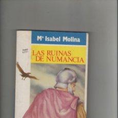 Libros de segunda mano: AUTOR: Mº. ISABEL MOLINA- LAS RUINAS DE NUMANCIA-E.D. NOGUER-AÑO 1988-MEDIDAS 19 X 13.50 CM-. Lote 180879555