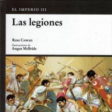 Libros de segunda mano: OSPREY MILITAR - EL IMPERIO ROMANO - LAS LEGIONES. TAPA DURA V. Lote 180898348