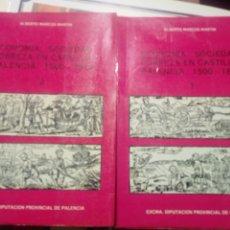 Libros de segunda mano: ECONOMÍA, SOCIEDAD, POBREZA EN CASTILLA; PALENCIA 1500 - 1814 .EXCMA. DIPUTACIÓN PROVINCIAL DE PALEN. Lote 181015010
