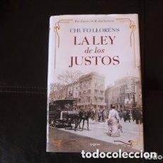 Libros de segunda mano: LA LEY DE LOS JUSTOS. Lote 181425526