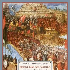 Libros de segunda mano: BERNAL DÍAZ DEL CASTILLO.HISTORIADOR DE LA CONQUISTA. ROBERT B. CUNNINGHAME GRAHAM.NUEVO. Lote 260603785