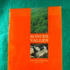 Libros de segunda mano: RONCESVALLES-TRAYECTORIA PATRIMONIAL SIGLOS XII-XIX-NAVARRA-FERMIN MIRANDA GARCIA-1993-1ª EDICION.. Lote 181883162