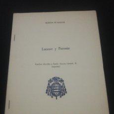 Libros de segunda mano: MARTÍN DE RIQUER, LUCANOR Y PATRONIO, SEPARATA, UNIVERSIDAD DE OVIEDO 1978. Lote 182050512