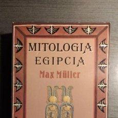 Libros de segunda mano: MITOLOGÍA EGIPCIA, MAX MÜLLER, ED. EDICOMUNIACIÓN.. Lote 182117181