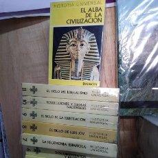 Libros de segunda mano: HISTORIA UNIVERSAL DAIMON 12 TOMOS OBRA COMPLETA. Lote 182130145