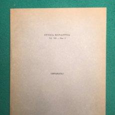 Libros de segunda mano: LOS PERGAMINOS DE VALLDAURA-SANTES CREUS EN EL ARCHIVO HISTÓRICO NACIONAL DE MADRID. Lote 182418122