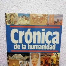 Libros de segunda mano: CRÓNICA DE LA HUMANIDAD. PLAZA&JANES. AÑO 1987. Lote 182469073