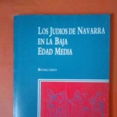 Libros de segunda mano: LOS JUDIOS ESPAÑOLES EN LA BAJA EDAD MEDIA. Lote 182570517