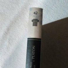 Livres d'occasion: LOS CLÁSICOS DE GRECIA Y ROMA: ARISTÓTELES, CONSTITUCIÓN DE LOS ATENUENSES. Lote 182799117