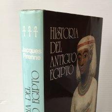 Libros de segunda mano: HISTORIA DEL ANTÍGUO EGIPTO. JACQUES PIRENNE. TOMO 3. ED. OCEANO, 1984.. Lote 182828263