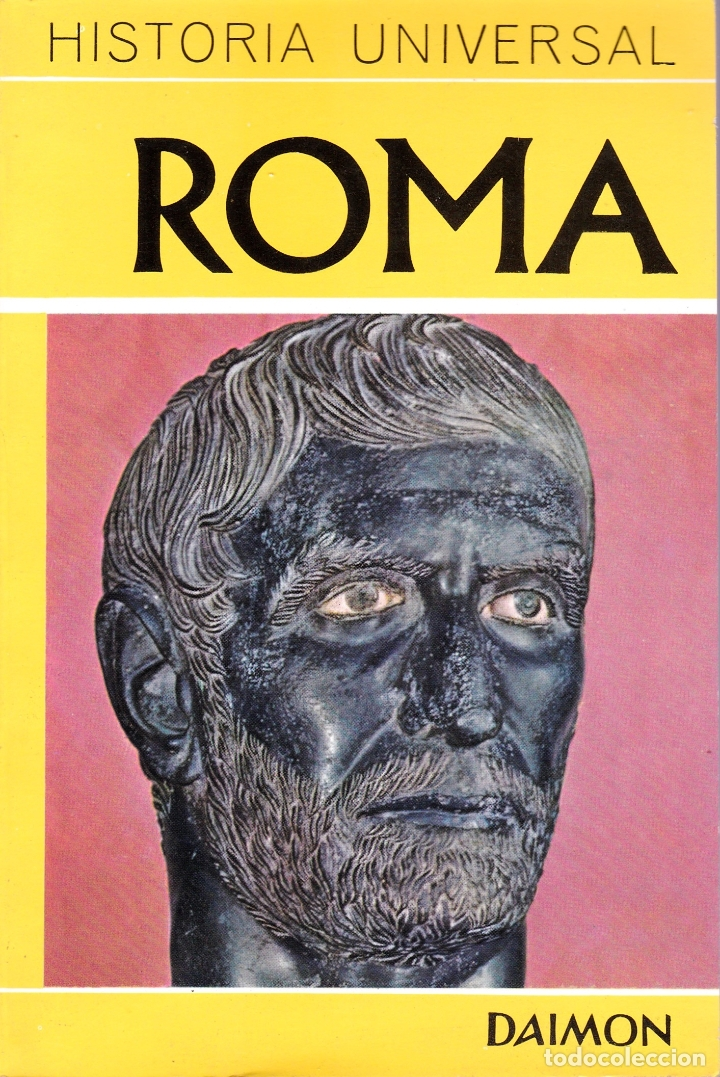 ROMA - HISTORIA UNIVERSAL DAIMON (Libros de Segunda Mano - Historia Antigua)