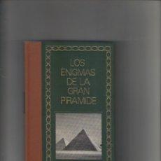 Libros de segunda mano: AUTOR: PHILIPPE AZIZ- LOS ENIGMAS DE LA GRAN PIRAMIDE-E.D. CIRCULO DE AMIGOS DE LA HISTORIA-AÑO 1976. Lote 183267857