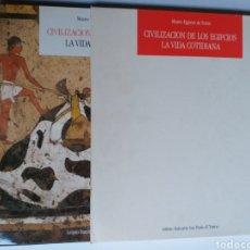 Libros de segunda mano: EGIPTO CIVILIZACIÓN DE LOS EGIPCIOS . LA VIDA COTIDIANA MUSEO EGIPCIO DE TURÍN. Lote 183408673