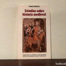 Libros de segunda mano: ESTUDIOS SOBRE HISTORIA MEDIEVAL. PIERE GUICHARD. EDICIONS ALFONS EL MAGNÀNIM. NUEVO. Lote 183864047