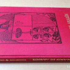 Libros de segunda mano: BLASON DE ARAGON - EL ESCUDO Y LA BANDERA - GUILLERMO FATÁS-GUILLERMO REDONDO. Lote 184004533