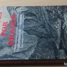 Libros de segunda mano: VIAJEROS POR ARAGON - J DOMINGUEZ - TROTAMUNDOS CURIOSOS IMPERTINENTES PLUMIFEROS Y ZAURINES EN GENE. Lote 184009028