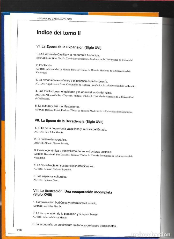 Libros de segunda mano: CASTILLA Y LEÓN EN EL MUNDO - LA HISTORIA DE CASTILLA Y LEÓN - TOMO II - - Foto 2 - 184160450
