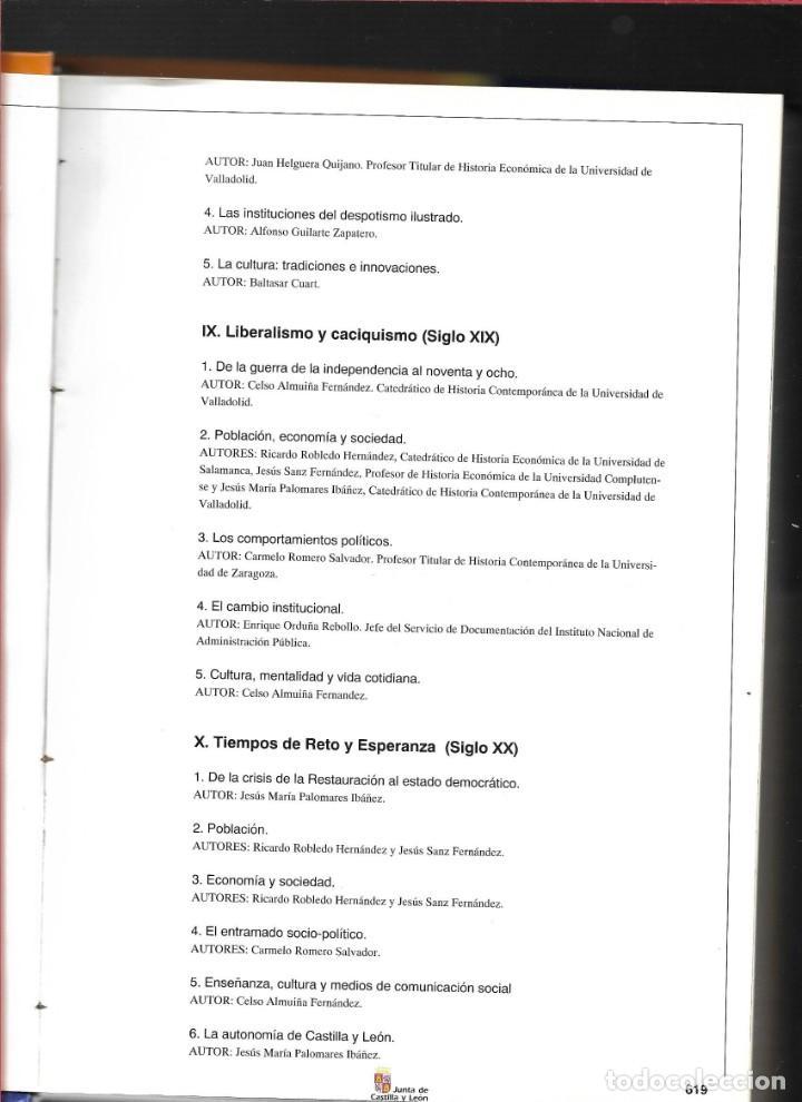 Libros de segunda mano: CASTILLA Y LEÓN EN EL MUNDO - LA HISTORIA DE CASTILLA Y LEÓN - TOMO II - - Foto 3 - 184160450