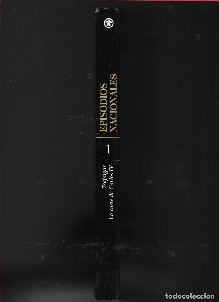 Libros de segunda mano: EPISODIOS NACIONALES - TRAFALGAR - LA CORTE DE CARLOS IV - BENITO PÉREZ GALDÓS - Foto 3 - 184418193