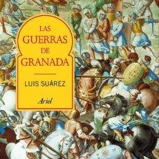 Libros de segunda mano: LAS GUERRAS DE GRANADA TRANSFORMACIÓN E INCORPORACIÓN DE AL-ANDALUS.LUIS SUÁREZ FERNÁNDEZ.NUEVO. Lote 184654268