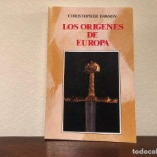 Libros de segunda mano: LOS ORÍGENES DE EUROPA. CHRISTOPHER DAWSON. EDICIONES RIALP. EDAD MEDIA.. Lote 184658022