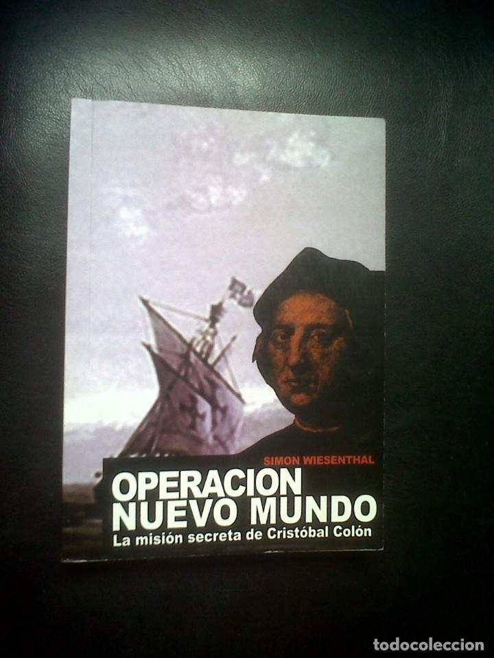 OPERACION NUEVO MUNDO (Libros de Segunda Mano - Historia Antigua)