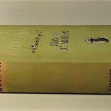 Libros de segunda mano: JUAN II DE RAGÓN(1398-1479). J. VICENS VIVES. EDIT TEIDE. BARCELONA. 1953.. Lote 185962091