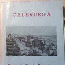 Libros de segunda mano: CALERUEGA. CUNA DE SANTO DOMINGO DE GUZMAN Y DE AZA. -. Lote 187210331