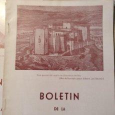 Libros de segunda mano: BOLETIN DE LA ASOCIACION ESPAÑOLA DE AMIGOS DE LOS CASTILLOS. Nº 39 CUATRO TRIMESTRE AÑO X-1962. -. Lote 187210342