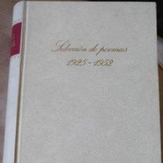 Libros de segunda mano: SELECCIÓN DE POEMAS 1925-1952. - NERUDA, PABLO.. Lote 187210376