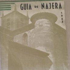 Libros de segunda mano: CUIA DE NAJERA 1963. - GARCIA PRADO, JUSTINIANO.. Lote 187210377