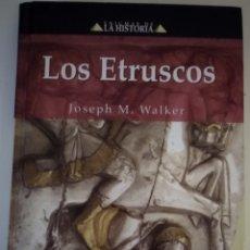Libros de segunda mano: LOS ETRUSCOS. Lote 187213802