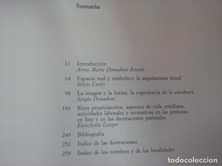 Libros de segunda mano: CIVILIZACIÓN DE LOS EGIPCIOS. LAS ARTES DE LA CELEBRACIÓN - MUSEO EGIPCIO DE TURIN - Foto 3 - 187438775