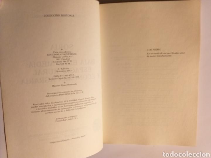 Libros de segunda mano: Soria en la Baja Edad Media espacio rural y economía agraria . Máximo Diago . Editorial Complutense - Foto 11 - 187455795