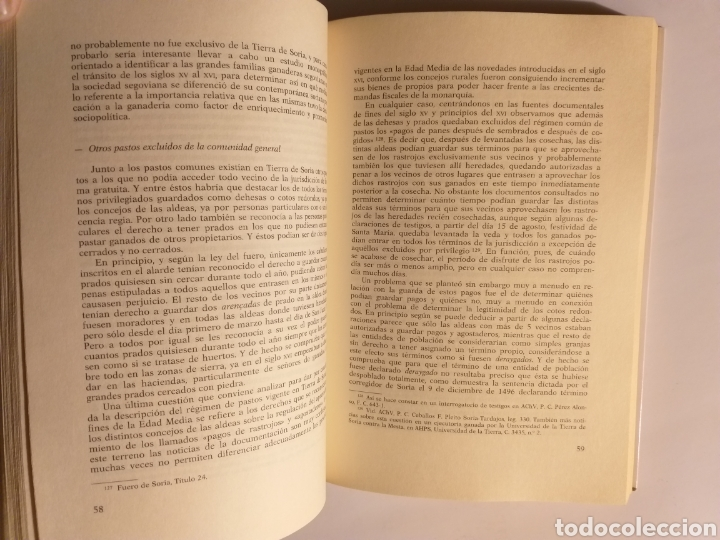 Libros de segunda mano: Soria en la Baja Edad Media espacio rural y economía agraria . Máximo Diago . Editorial Complutense - Foto 15 - 187455795