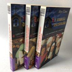 Libros de segunda mano: LOS MISTERIOS DE LA ABADIA ···3 VOLS ···RELATO DE SUSPENSE EN LA INGLATERRA MEDIEVAL . Lote 187592672