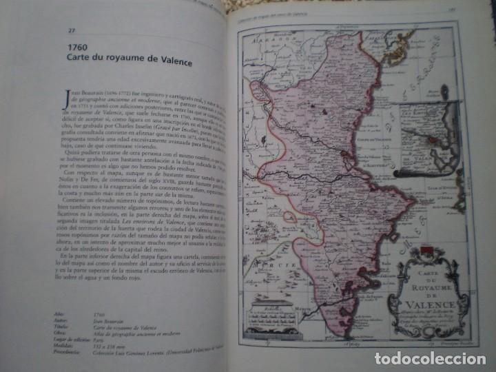 Libros de segunda mano: LIBRO. MAPAS DEL REINO DE VALENCIA DE LOS SIGLOS XVI A XIX. MUY DOCUMENTADO Y CON MUCHOS MAPAS - Foto 4 - 188537297