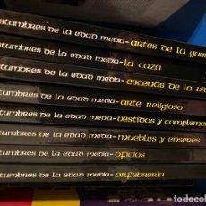 Libros de segunda mano: VIDA Y COSTUMBRES DE LA EDAD MEDIA (COMPLETA 8 TOMOS). Lote 188627603